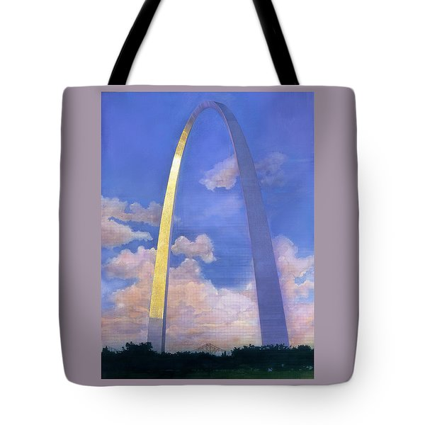 St.louis Gateway Arch Tote Bag