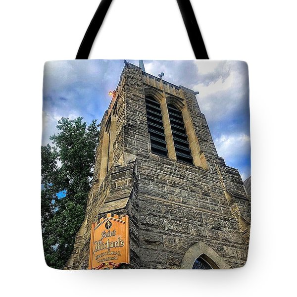 St.michael's Episcopal Cathedral Tote Bag