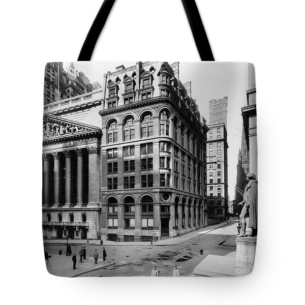 Stock Exchange, C1908 Tote Bag by Granger