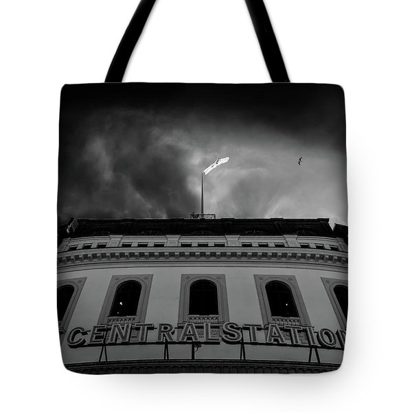 Stockholm Central Tote Bag