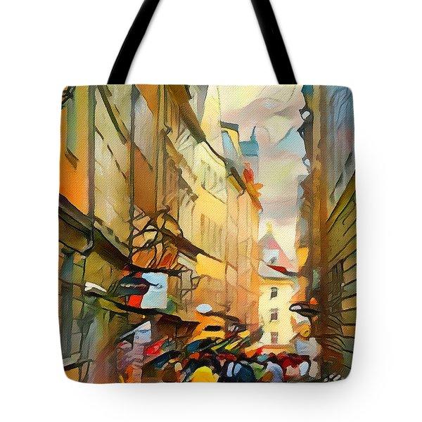 Stockholm Galmastan Town 9 Tote Bag