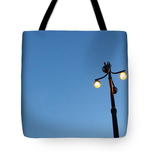Stockholm Street Lamp Tote Bag