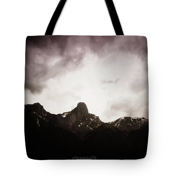 Tote Bag featuring the photograph Stockhorn by Mimulux patricia no No
