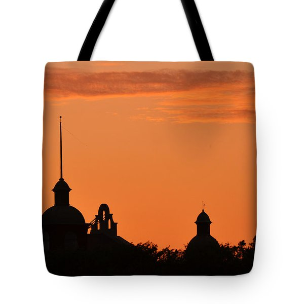 Stockyard Sunset Tote Bag