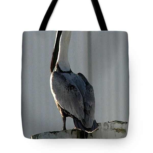Stoic Pelical Tote Bag by Mary Haber