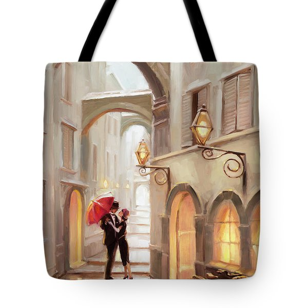 Stolen Kiss Tote Bag