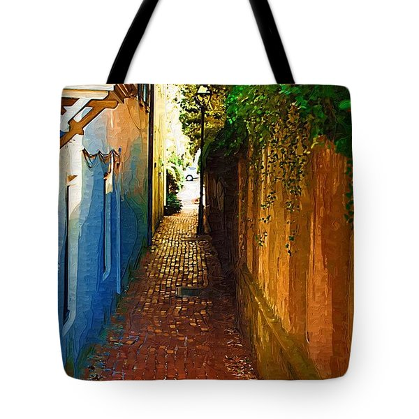 Tote Bag featuring the photograph Stoll's Ally by Donna Bentley