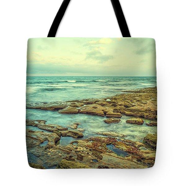 Stone And Sea Tote Bag