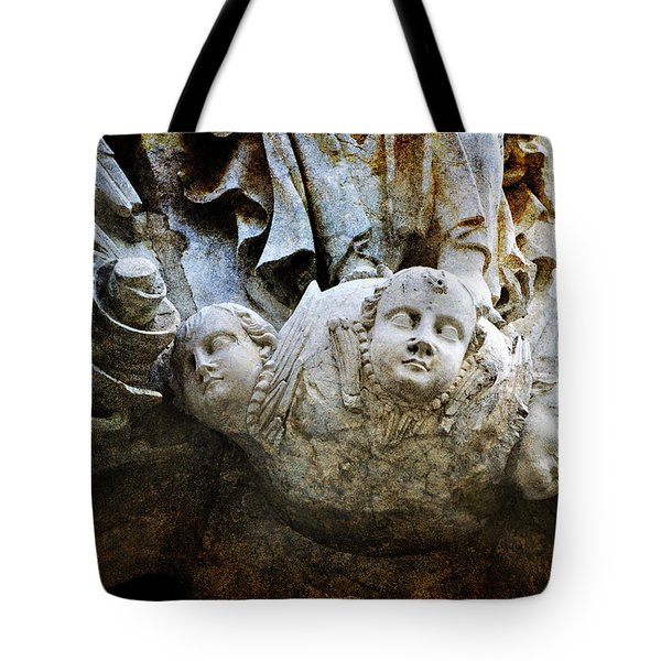 Stone Angels Tote Bag