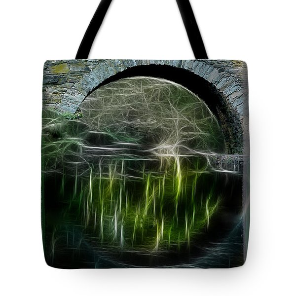 Tote Bag featuring the photograph Stone Arch Bridge - Ny by EricaMaxine  Price