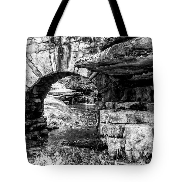 Stone Arch Tote Bag by Wade Courtney