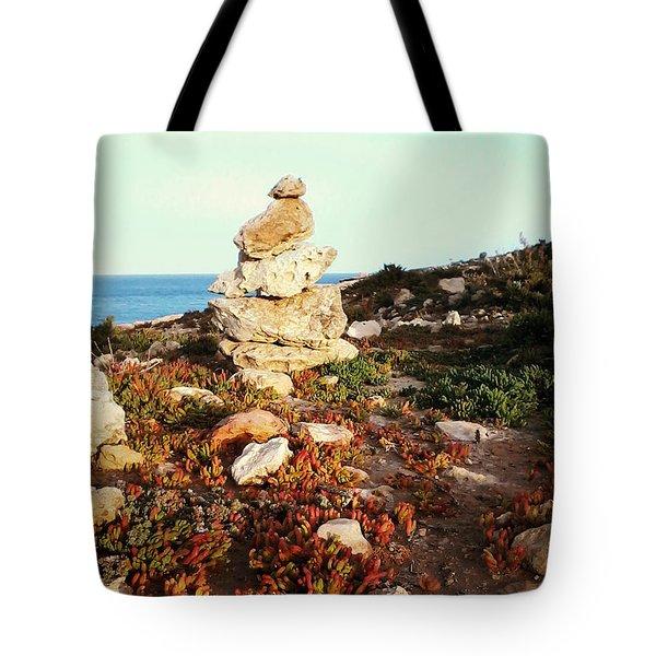 Stone Balance Tote Bag