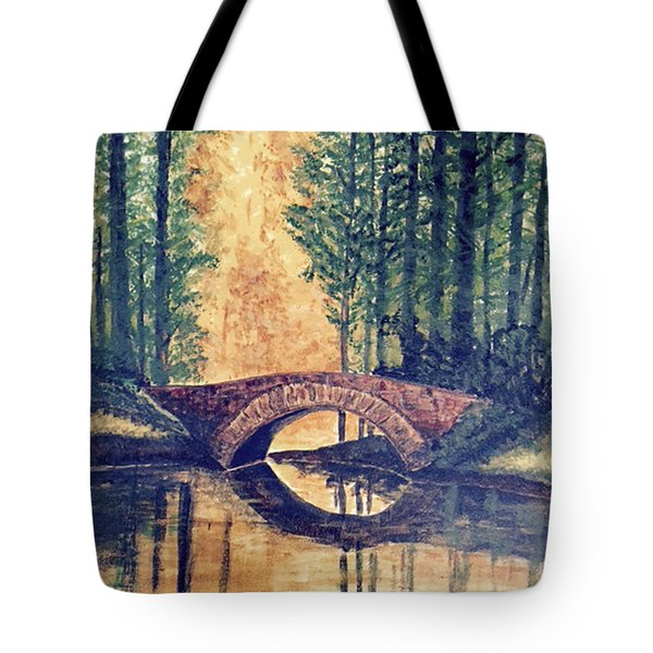 Stone Bridge Tote Bag