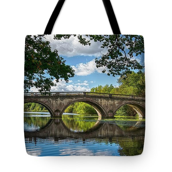 Stone Bridge Over The River 590  Tote Bag