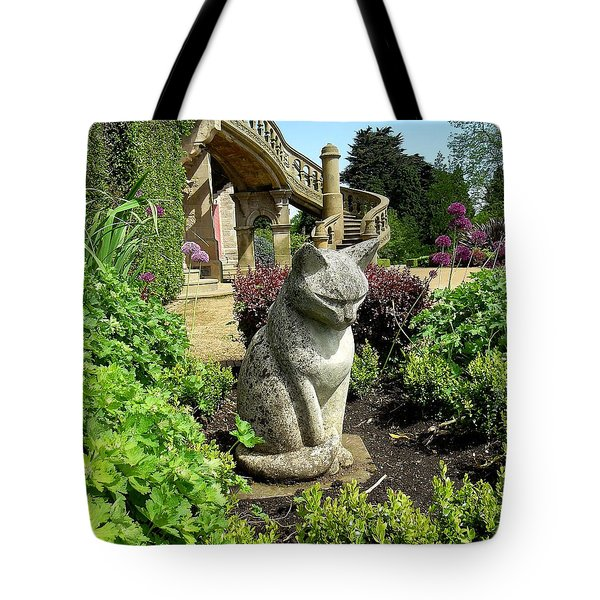Stone Cat Tote Bag by Patrick J Murphy