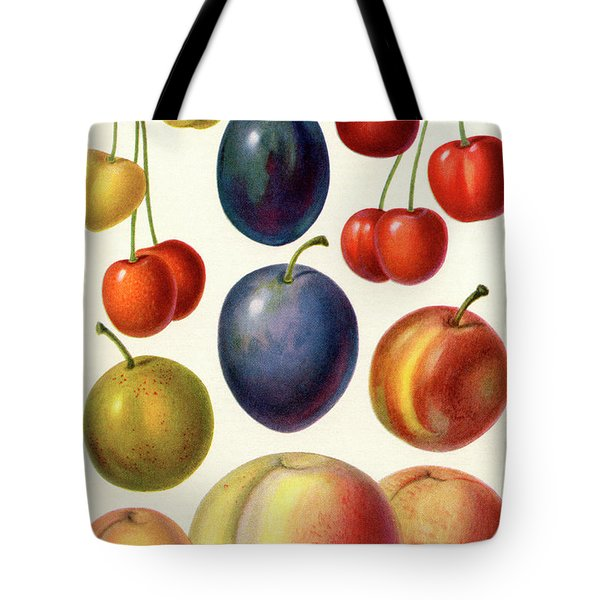 Stone Fruit Or Drupes Tote Bag