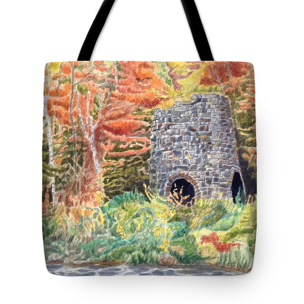 Stone Furnace Tote Bag
