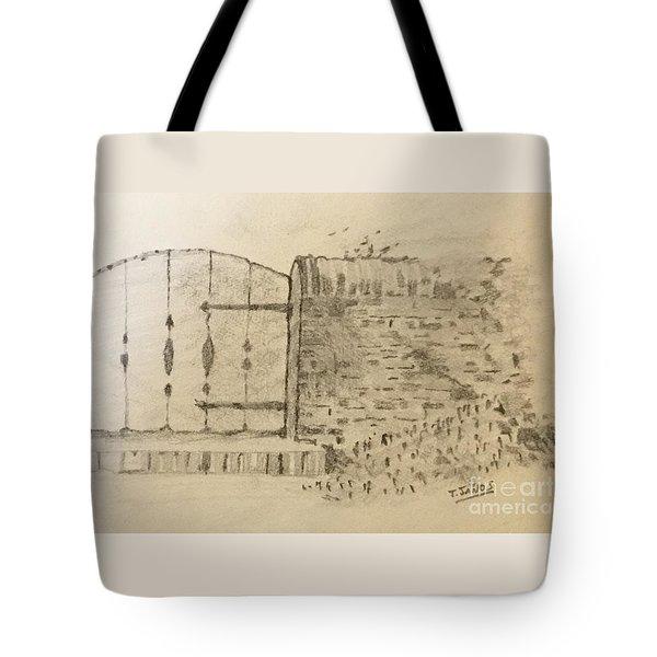 Stone Gate Tote Bag