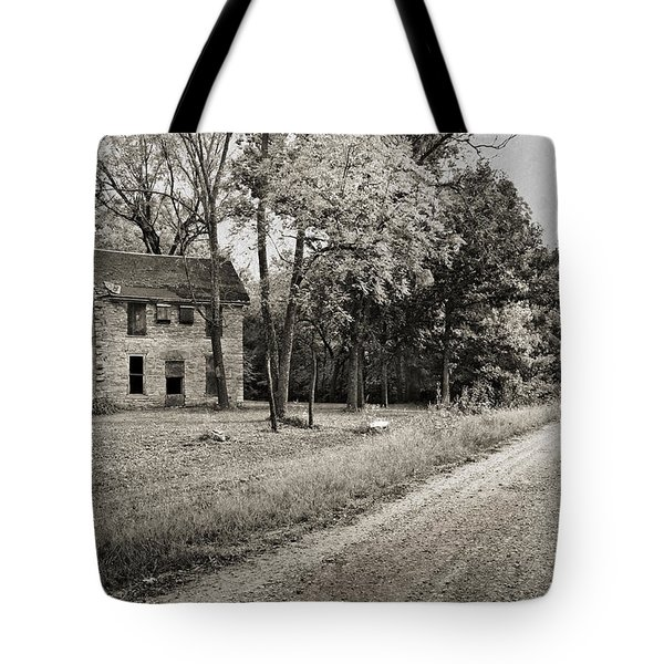 Stone House Road Tote Bag