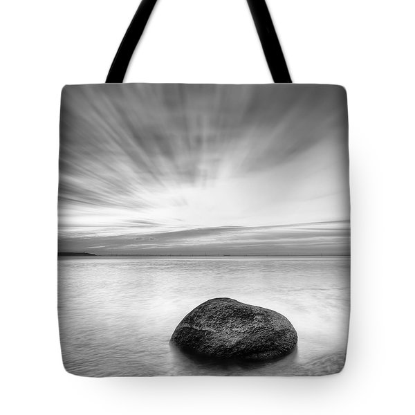 Stone In The Sea Tote Bag
