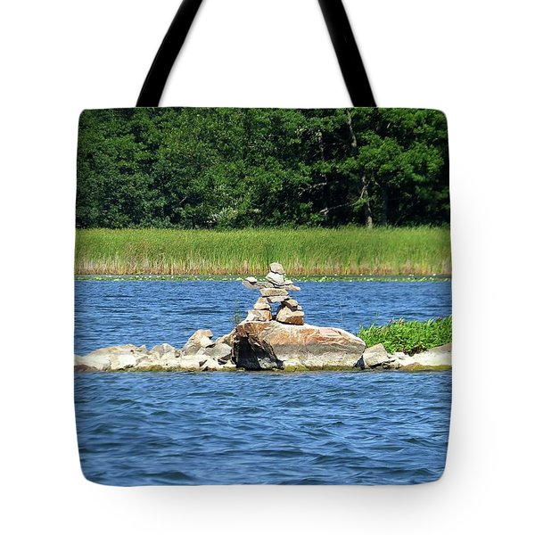 Stone Man Of  The Rift Tote Bag