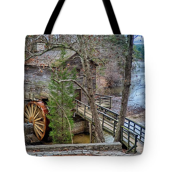 Stone Mountain Park In Atlanta Georgia Tote Bag