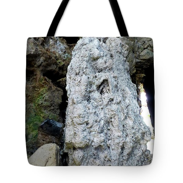 Tote Bag featuring the photograph Stone Over Time by Francesca Mackenney