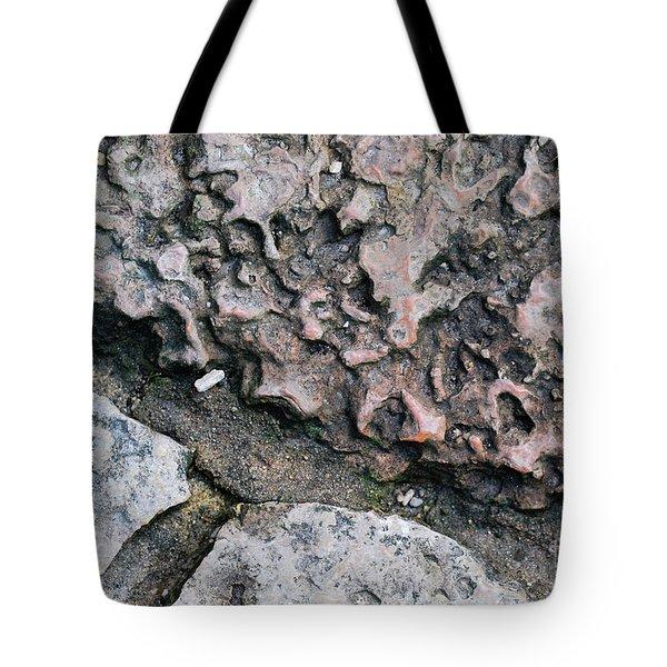 Stone Patterns Tote Bag