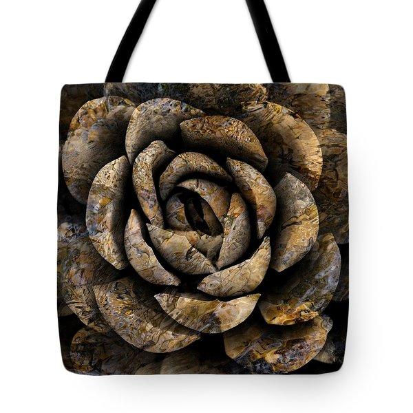 Stone Rose Tote Bag