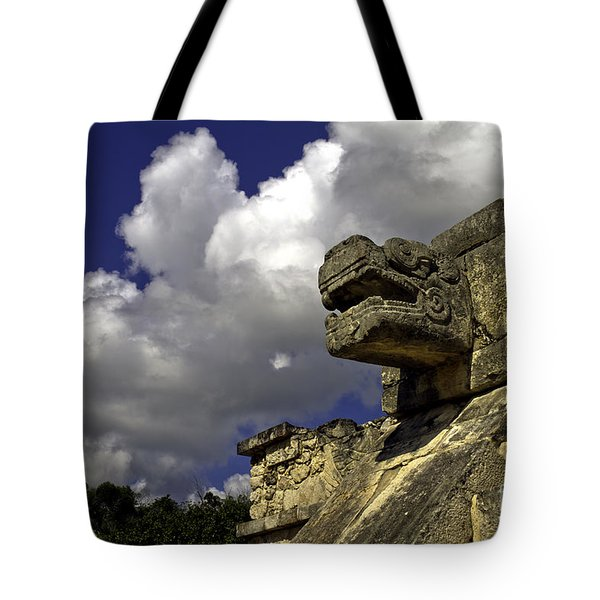 Stone Sky And Clouds Tote Bag
