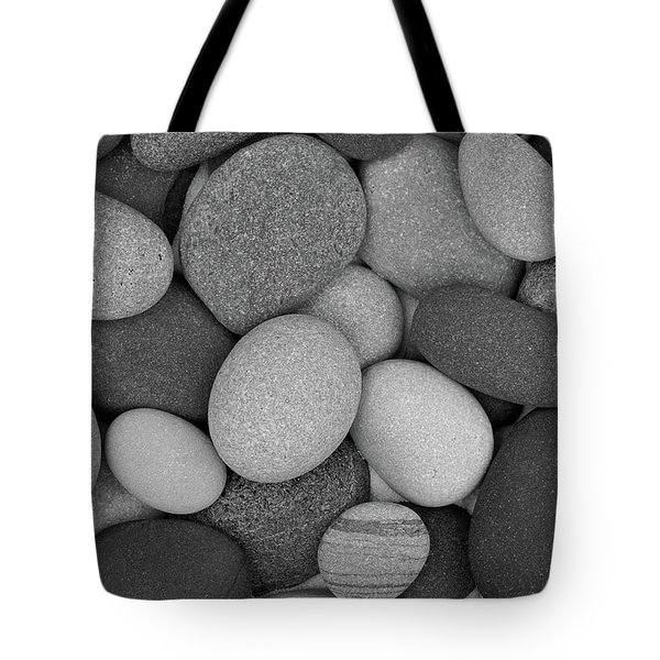 Stone Soup Black And White Tote Bag