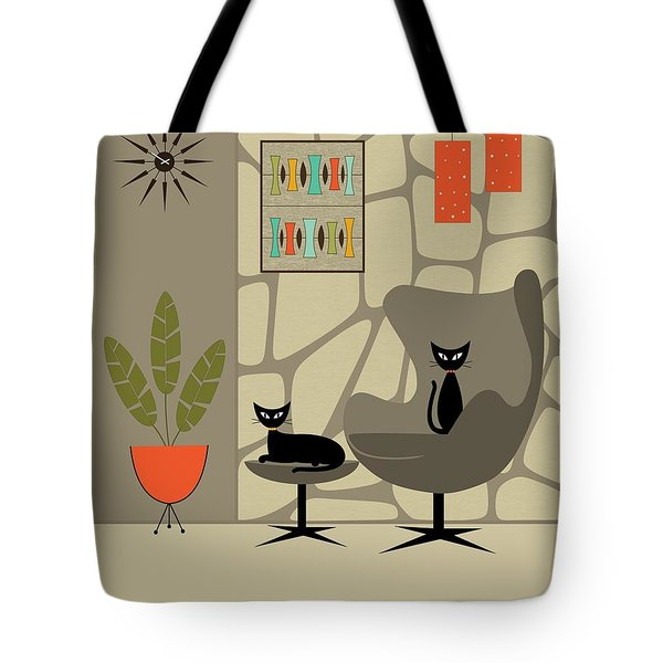 Tote Bag featuring the digital art Stone Wall by Donna Mibus