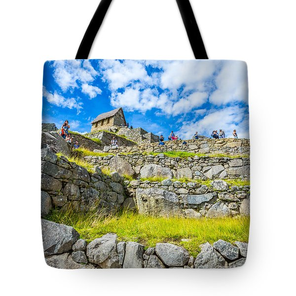 Tote Bag featuring the photograph Stone Walls by Gary Gillette