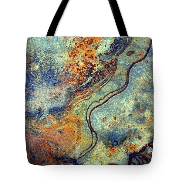Stone Worlds Tote Bag by Tara Turner