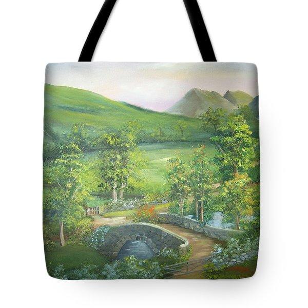 Stonebridge River Crossing Tote Bag