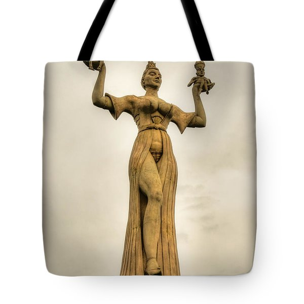 Stoned Beauty Tote Bag by Syed Aqueel