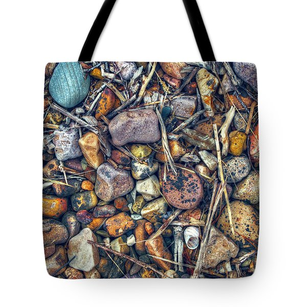 Tote Bag featuring the photograph Dry Creek by Wayne Sherriff