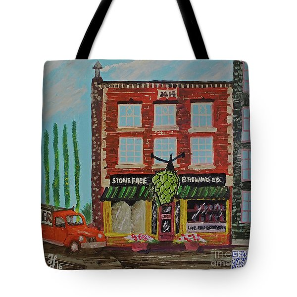 Stoneface Brewing Co. Tote Bag