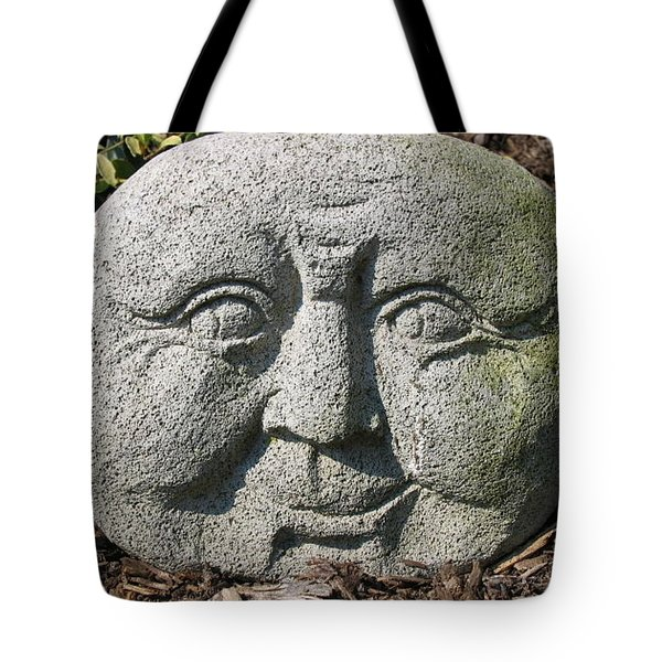 Tote Bag featuring the photograph Stoneface by Charles Kraus