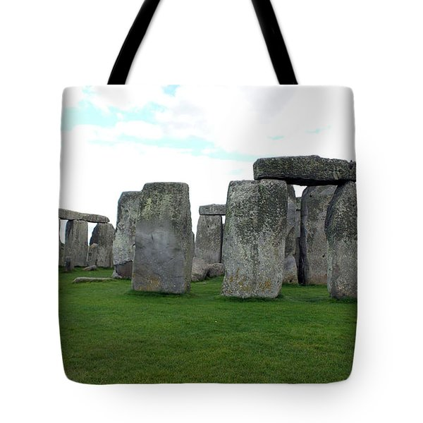 Tote Bag featuring the photograph Stonehenge 1 by Francesca Mackenney