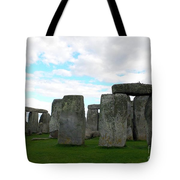 Tote Bag featuring the photograph Stonehenge 2 by Francesca Mackenney