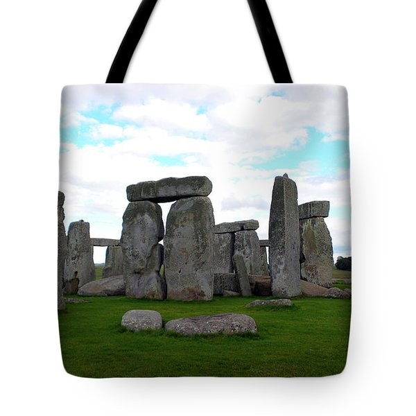 Tote Bag featuring the photograph Stonehenge 3 by Francesca Mackenney