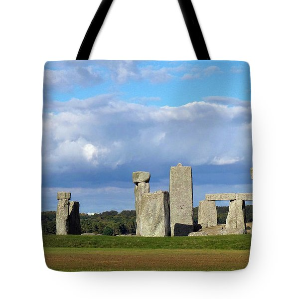 Tote Bag featuring the photograph Stonehenge 4 by Francesca Mackenney