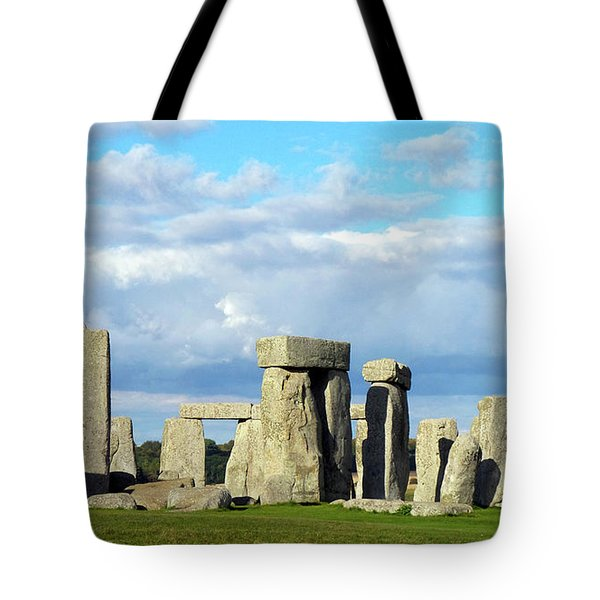 Tote Bag featuring the photograph Stonehenge 5 by Francesca Mackenney