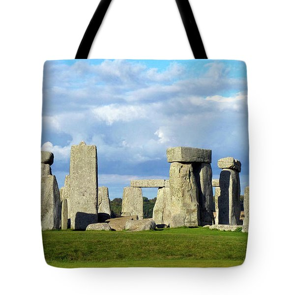 Tote Bag featuring the photograph Stonehenge 6 by Francesca Mackenney