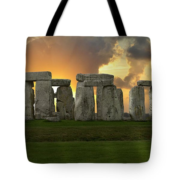 Stonehenge Tote Bag by Don and Bonnie Fink