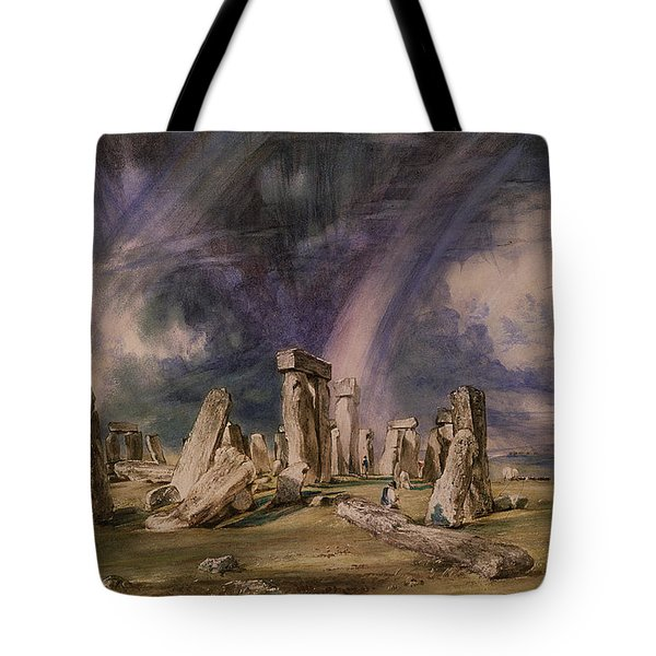 Stonehenge Tote Bag by John Constable