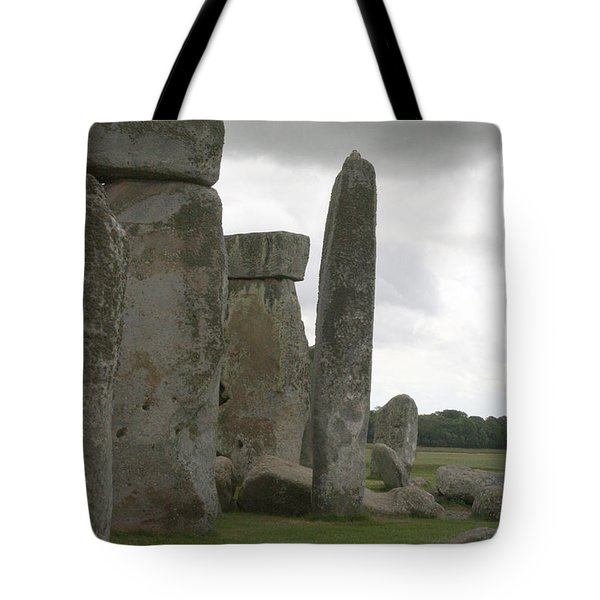 Stonehenge Side Pillars Tote Bag