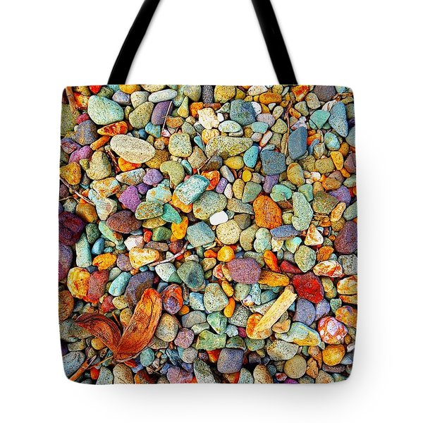 Stones And Barks On Beach Tote Bag