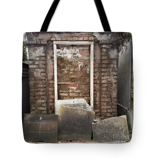 Tote Bag featuring the photograph Stones And Markers by Kim Nelson